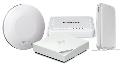 Optrics Wireless Products Aerohive, Fortinet, NetGear, WatchGuard